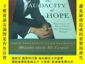二手書博民逛書店The罕見Audacity of hopeY314746 Bar