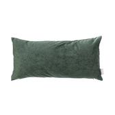 HOLA 素色星悅雙色抱枕30x60cm 深綠色