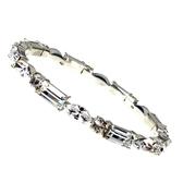 chicist 冰鑽硬式手環(銀)-兩色
