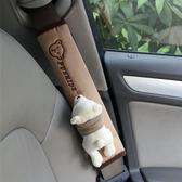 汽車內裝飾用品卡通汽車安全帶護肩套車上用品可愛車用安全帶護套 英雄聯盟