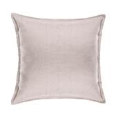 HOLA 素色織紋抱枕50x50cm粉紫色