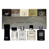 Giorgio Armani 亞曼尼 ARMANI男性小淡香水禮盒5入組 Vivo薇朵