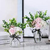 現代簡約假花仿真花把束套裝創意家居客廳餐桌擺設裝飾花藝 qz6005【甜心小妮童裝】
