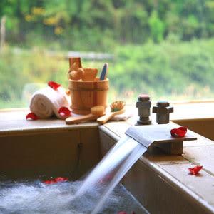 【平日專用】湯布苑 - 2小時 - 雙人套房 (大床+湯池) + 飲料 + 點心