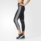 adidas 內搭褲 ESS 3S TIGHT 黑 白 經典 基本款 緊身褲 三條線 休閒 運動穿搭 女款 黑白【PUMP306】 BS4820