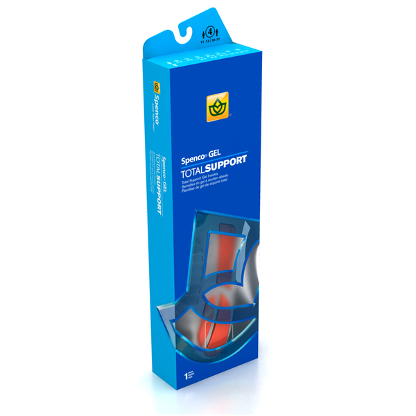 《Spenco》全面支撐防護系列 矽膠緩衝避震款 Total Support® Gel SI46-300