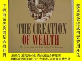 二手書博民逛書店英文原版罕見The Creation of Wealth by