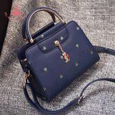 夏單肩側背包小包包正韓女包斜背包手提女士小方包皮包 巴黎時尚生活