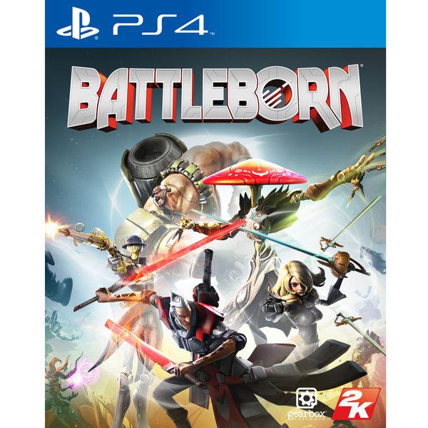 PS4-二手片 為戰而生 中文版 PLAY 小無電玩
