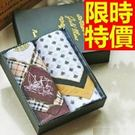 手帕 禮盒-有型簡約明星同款純棉質方巾男配件6款57r21【時尚巴黎】