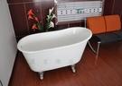 【麗室衛浴】BATHTUB WORLD NH-1015 高級獨立式鑄鐵浴缸 135公分