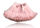 【荷蘭 DOLLY】公主雪紡澎裙 - 玫瑰粉漸層灰玫瑰 PET7NB (3-18個月嬰幼尺寸)