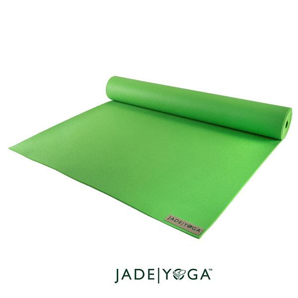 Jade Yoga 天然橡膠瑜珈墊 Harmony Mat 4.8mm 173cm - 奇異果綠