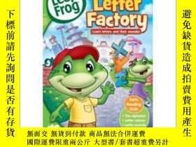 二手書博民逛書店Leap罕見Frog 蛙 兒童英文動畫片DVD247232 美國