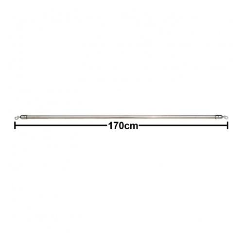 活動隔屏Cafe' Barrier系列 隔屏橫桿(長) 170cm 銀色 / 支 BS-170