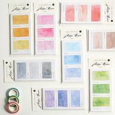 【BlueCat】100種色彩系列 便條紙 N次貼 便利貼