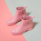 雨鞋中短筒時尚外穿廚房膠鞋防水女防滑雨靴【雲木雜貨】