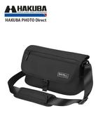 HAKUBA SHELL SLIM FIT02 SHOULDER BAG 側背包 黑色 M 中 【HA205916】 M號