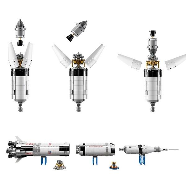 LEGO 樂高 IDEA 創意系列 NASA Apollo 阿波羅計畫 SaturnV 農神5號 21309
