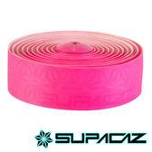 SUPACAZ 美國Super Sticky Kush高性能手把帶 單色系列 螢光粉紅【好動客】