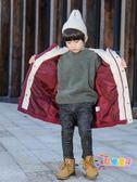 男童棉衣2018新款冬季外套加厚棉襖兒童羽絨棉服韓版冬裝潮中長款