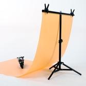 攝影PVC背景布架拍照板拍攝淘寶主直播證件棚照相背景紙【美物居家館】