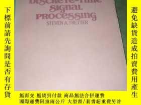 二手書博民逛書店introduction罕見to discrete-time signal processingY178454