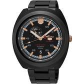 【台南 時代鐘錶 SEIKO】精工 盾牌五號 60周年紀念款限量機械錶 SSA315J1@4R37-01F0K 黑 45mm