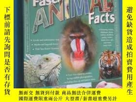 二手書博民逛書店Fascinating罕見ANIMAL Facts 硬精裝Y15