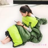 睡袋 睡袋成人戶外秋冬加厚保暖室內午休露營雙人旅行隔臟LB2932【Rose中大尺碼】
