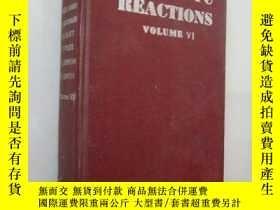 二手書博民逛書店ORGANIC罕見REACTION (VI) 萬昌書局1951版