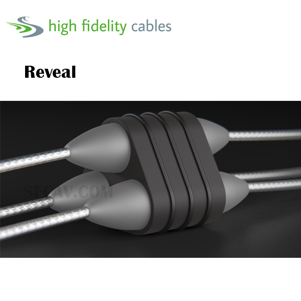 【勝豐群新竹音響】High Fidelity Cables Reveal 電源線 1m