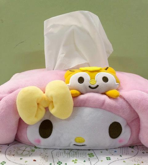 【震撼精品百貨】My Melody_美樂蒂~Sanrio 美樂蒂面紙盒套-大頭造型#14090