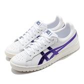 Asics 休閒鞋 Tiger Gel-PTG 白 紫 男鞋 低筒 皮革 經典款 運動鞋【ACS】 1191A089105