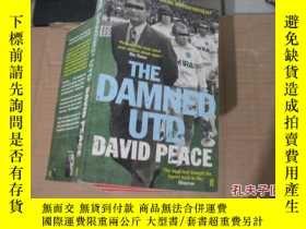 二手書博民逛書店THE罕見DAMNED UTD DAVID PEACE9740