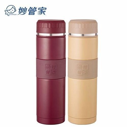 【妙管家】316超級不鏽鋼360ml真空保溫杯 HKVC316-360