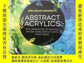 二手書博民逛書店Abstract罕見Acrylics: New approach