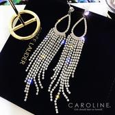 《Caroline》★韓國熱賣造型時尚Bling  Bling 絢麗閃亮動人 耳環70676