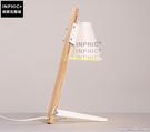 INPHIC- 北歐原木質檯燈現代臥室床頭櫃燈閱讀鐵藝燈罩實木檯燈-B款_S197C