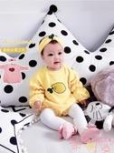 嬰兒衣服秋裝連身衣包屁網紅長袖哈衣寶寶可愛【聚可愛】