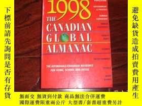 二手書博民逛書店the罕見Canadian Global Almanac 199