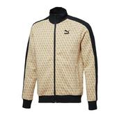 Puma Luxe 黃 外套 男 流行系列 立領外套 運動 休閒 健身 慢跑 長袖外套 59674132