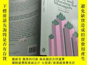 二手書博民逛書店finance罕見and accounting for managers second editionY195