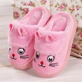 (交換禮物 聖誕)尾牙 男童棉拖鞋兒童冬季大童可愛卡通冬天小孩女童防滑寶寶毛毛保暖鞋