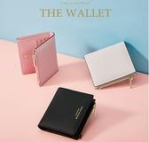 高爾夫薄款迷你小錢包女短款豎款女士錢包皮夾子卡包硬幣倉 極簡雜貨