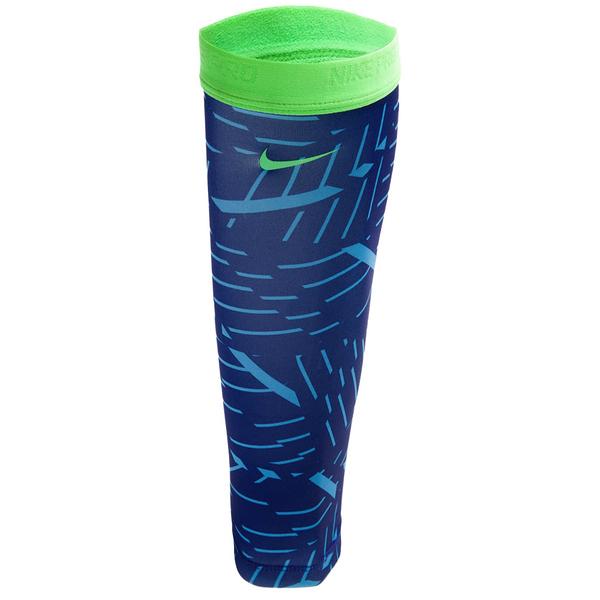 Nike Pro Angle Graphic [NRSB4455ML] 小腿套 保暖 運動 透氣 彈性 藍 M/L
