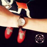 手錶  復古盤細帶防水石英錶