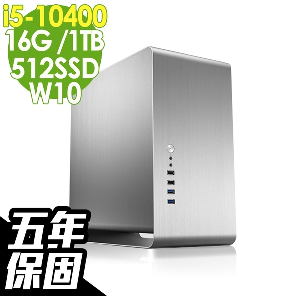 iStyle 新世代電腦 i5-10400/16G/512SSD+1TB/W10/五年保固