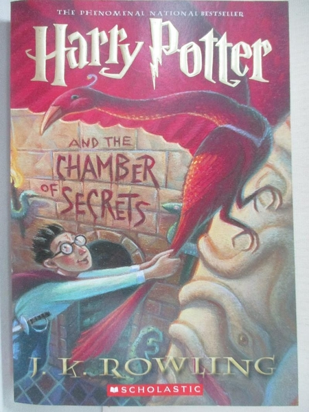 【書寶二手書T1/原文小說_A4W】Harry Potter and the Chamber of Secrets_Rowling, J. K.