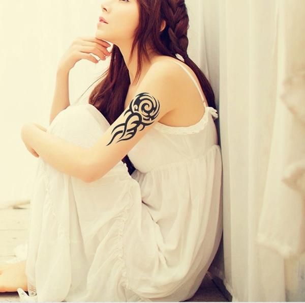 紋身貼 花臂 紋身貼紙 刺青貼紙 個性 男女紋身 動物 身體彩繪 刺青 微刺青 刺青圖 8073